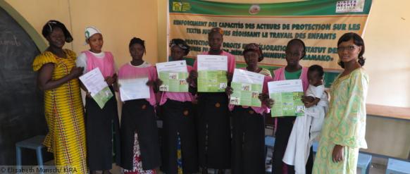 formation professionelle des aides ménagères au Mali