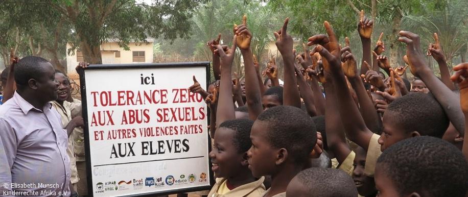 Kinderrechte Afrika e.V.; Benin; Kampf gegen sexuelle Gewalt