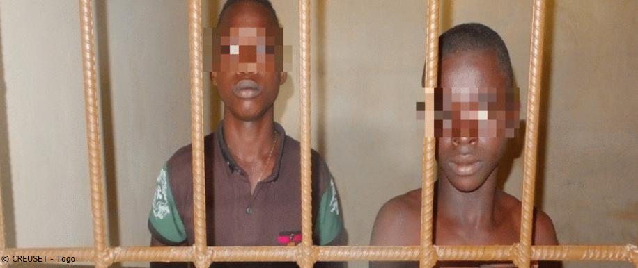 Kinder im Gefängnis; Togo