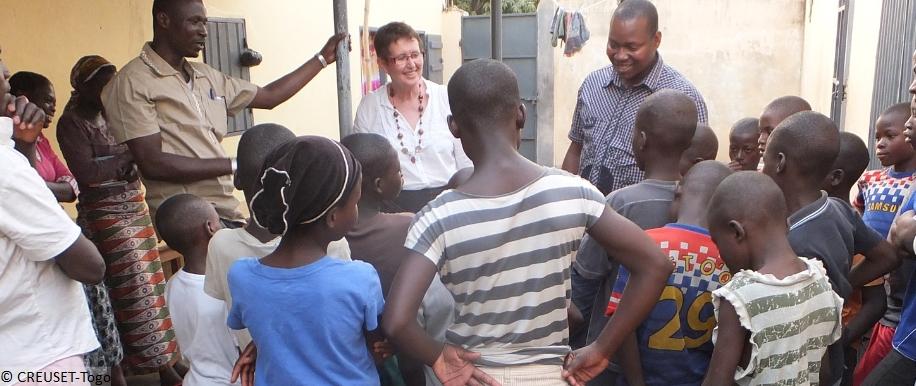 mit Kindern im Gespräch; Projektbegleitung