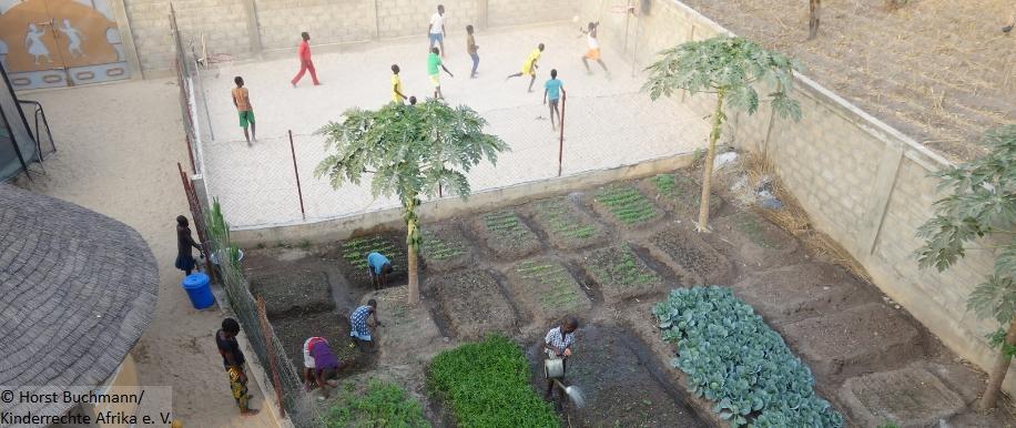 afrikanisches Spiel; Recht auf Freizeit und Erholung