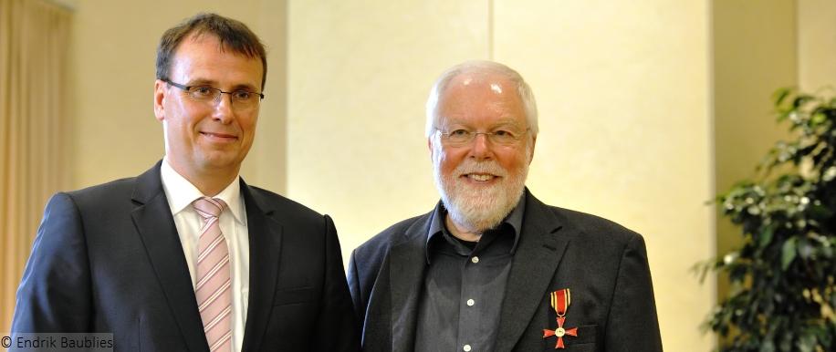 Bundesverdienstkreuz Horst Buchmann