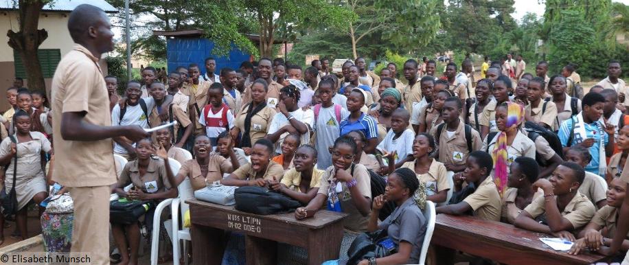 Aufklärung in Benin, Afrika